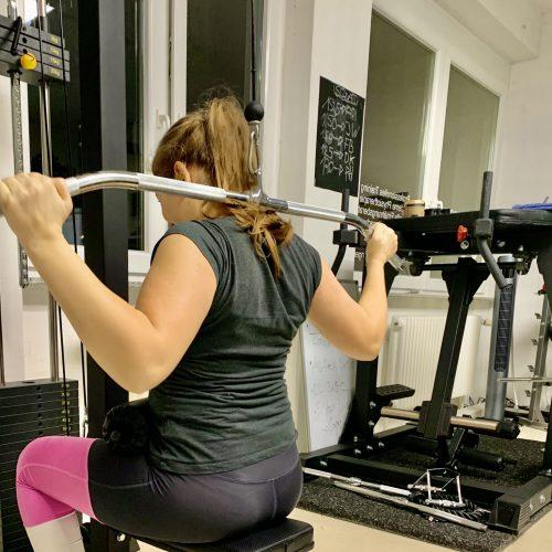 Personal Training Frauen Lat